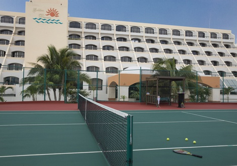 Golden Parnassus All Inclusive Resort & Spa - Cancha de tenis Hotel Golden Parnassus All Inclusive Resort & Spa Cancún